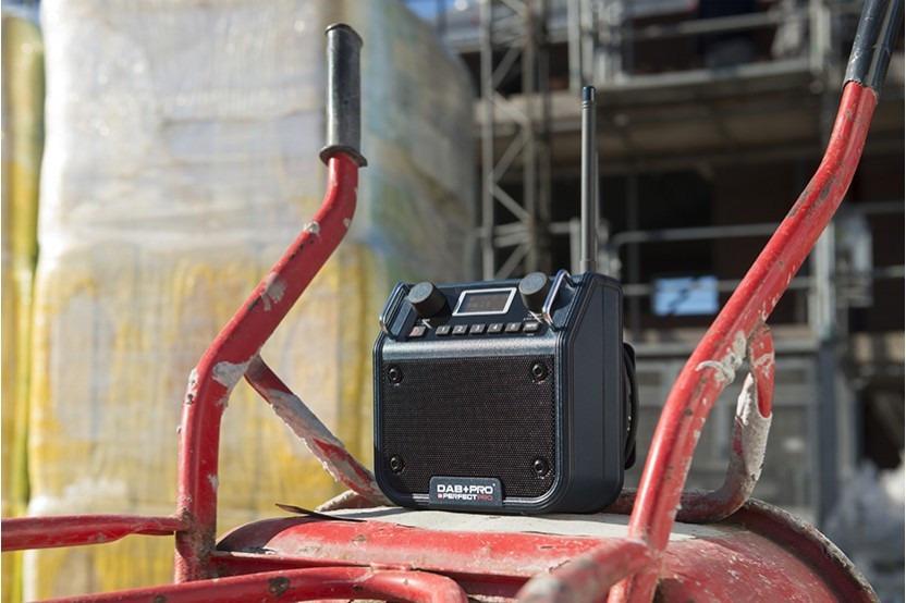 Perfectpro DAB+ Pro bouwradio werkradio