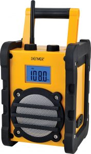 Goedkope bouwradio - Denver WR-40