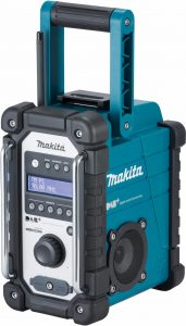 Makita DMR110 DAB plus bouwradio