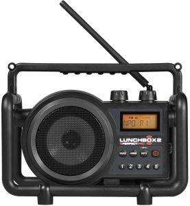 Muziek beluisteren via een bouwradio | PerfectPro Lunchbox 2