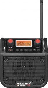 Bouwradio met of zonder accu? | PerfectPro MyBox 2 bouwradio