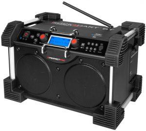 Bouwradio voordelen | PerfectPro RockHart BT bouwradio